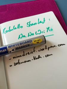 Moduletto - das Whiteboardpaper